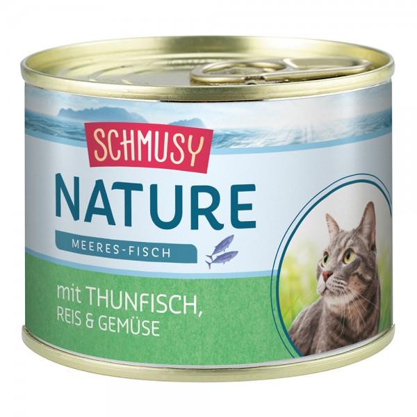 Schmusy Nature Meeres-Fisch Thunfisch & Gemüse
