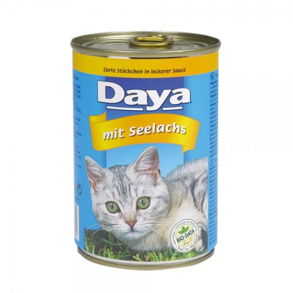 Daya Häppchen in Sauce mit Seelachs