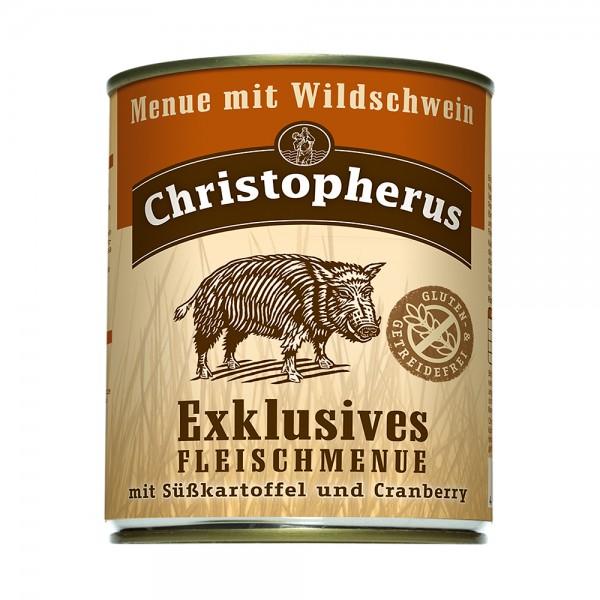 Allco Christopherus Fleischmenü Wildschwein