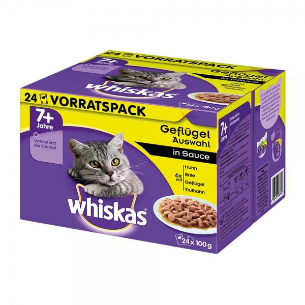Whiskas MP 7+ Geflügelauswahl in Sauce