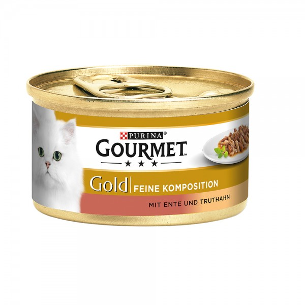 Gourmet Gold feine Komposition mit Ente & Truthahn