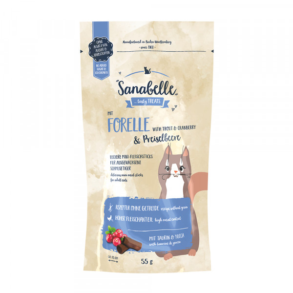 Bosch Sanabelle Snack Forelle/Preiselbeere