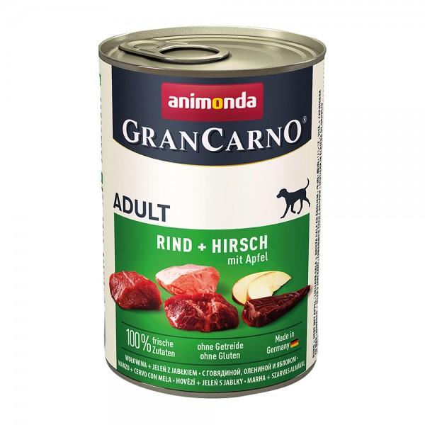 Animonda Gran Carno Original Adult mit Rind + Hirsch mit Apfel