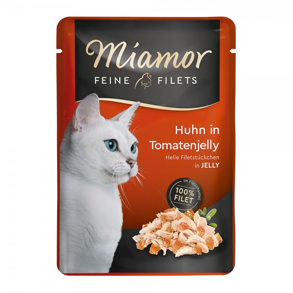 Miamor Feine Filets Huhn in Tomatenjelly