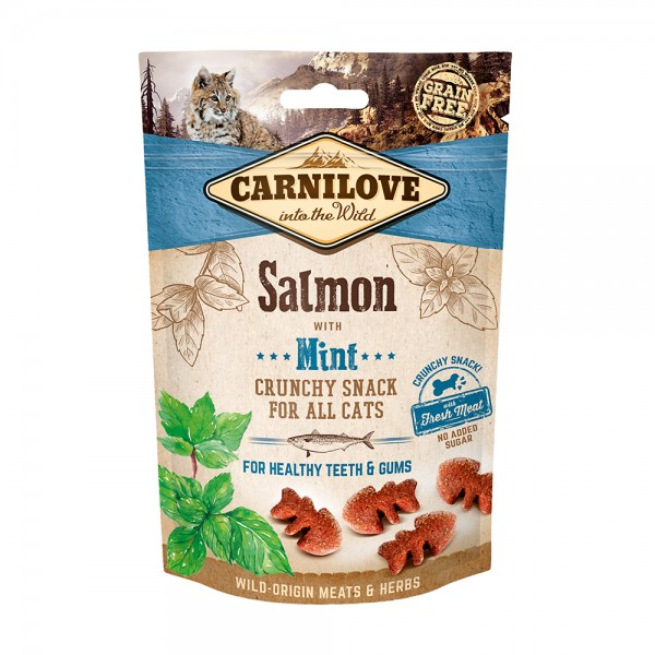 Carnilove Crunchy Snack Salmon with Mint