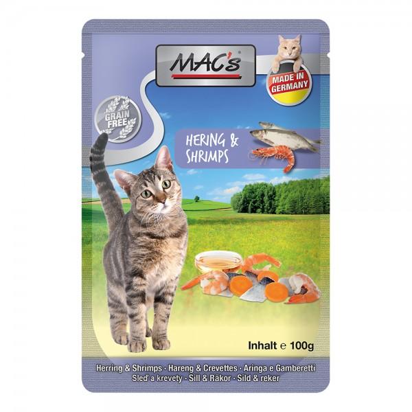 MAC´s CAT Hering und Shrimps