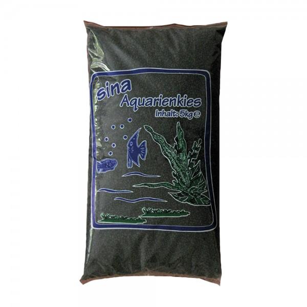 Sina Farb-Aquarienkies schwarz 2-3mm